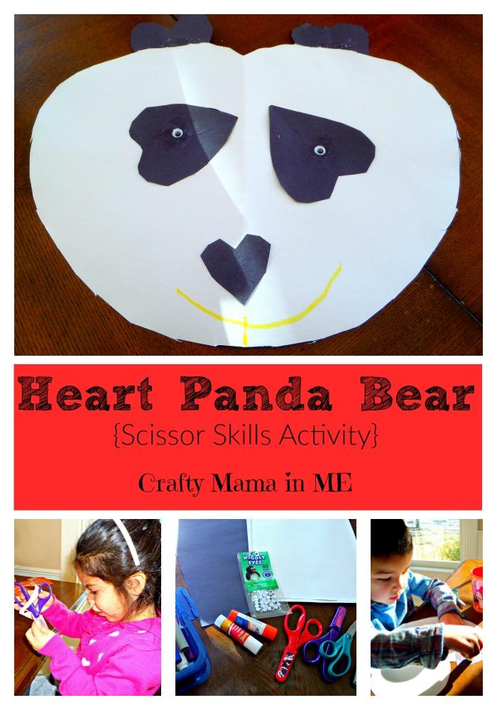 Heart Panda Bears