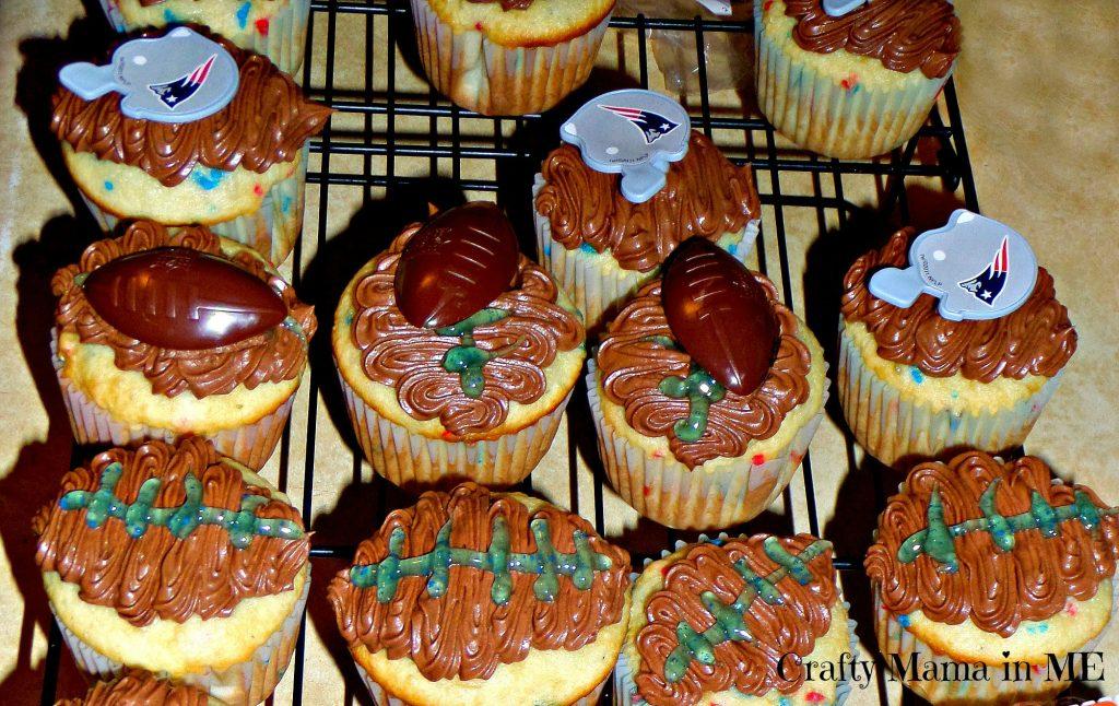 Super Bowl Cupcakes