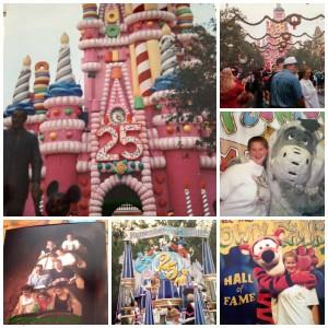 magic kingdom collage