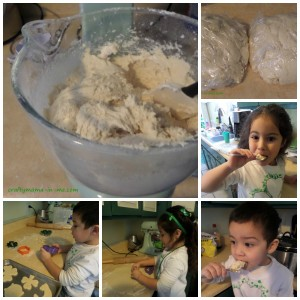 sugar cookie Collage