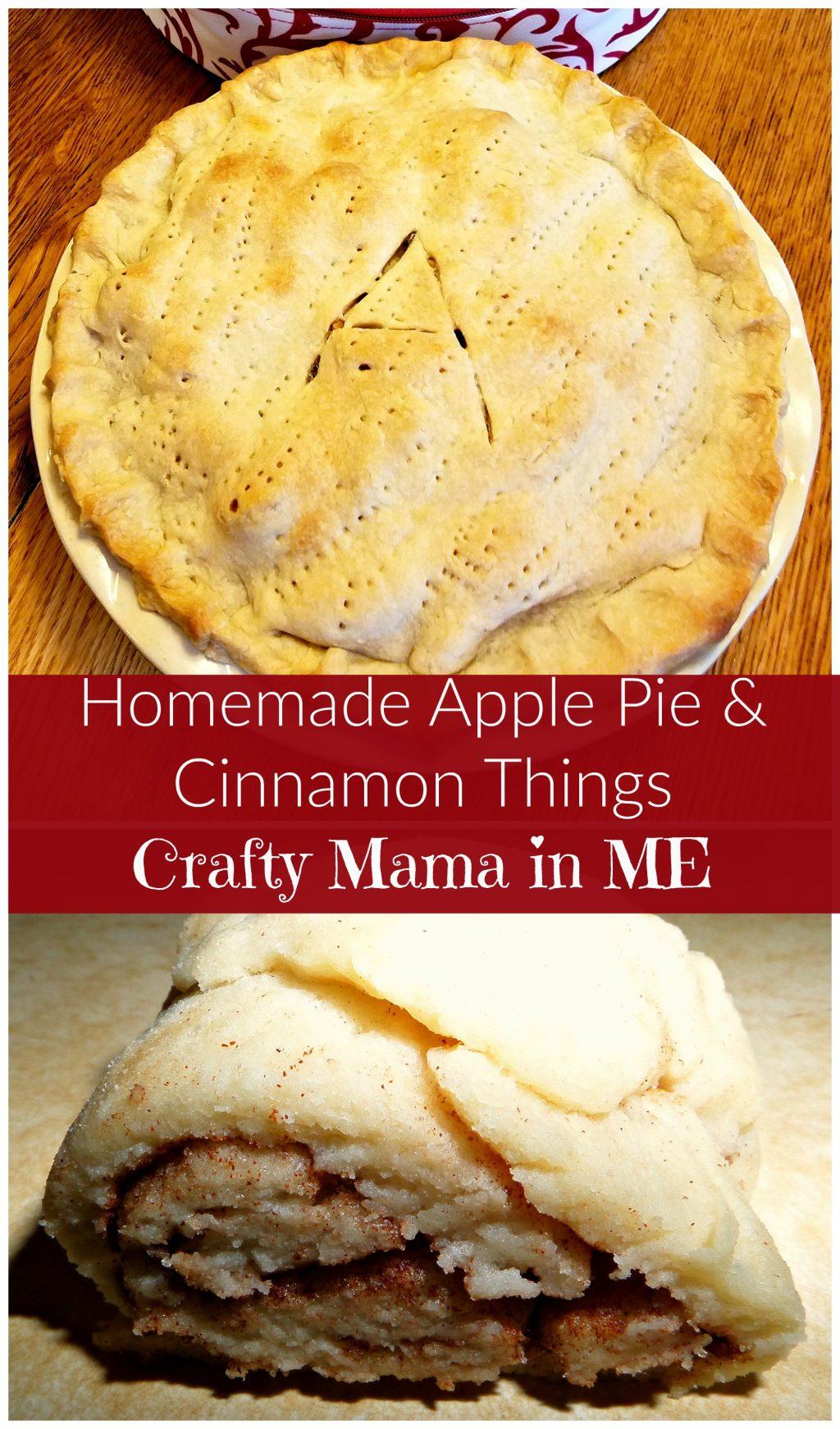 Apple Pie & Cinnamon Things