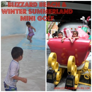 Blizzard Beach & Winter Summerland Mini Golf