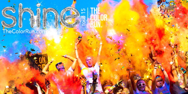 The Color Run Giveaway Winner