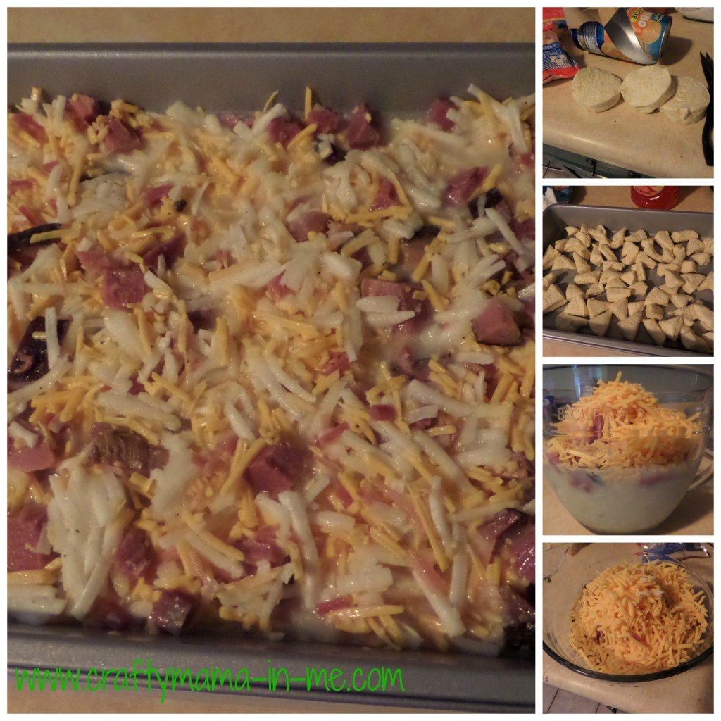 Loaded breakfast casserole