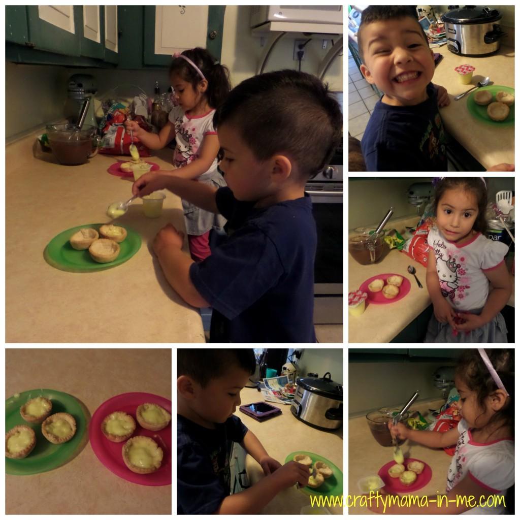 Kids in the Kitchen: Easy Lemon Tarts