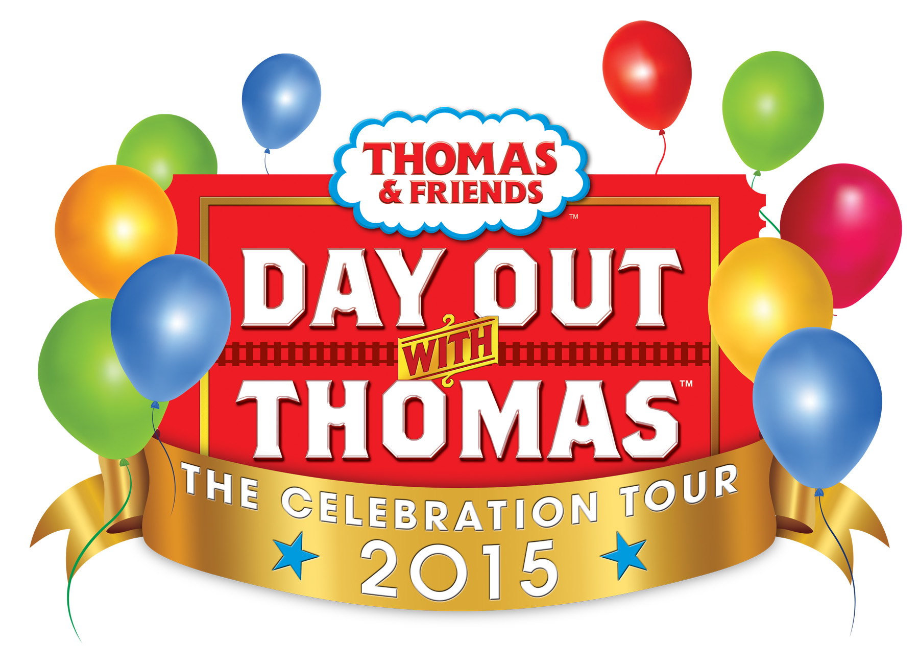 A Day Out with Thomas - Celebration Tour 2015