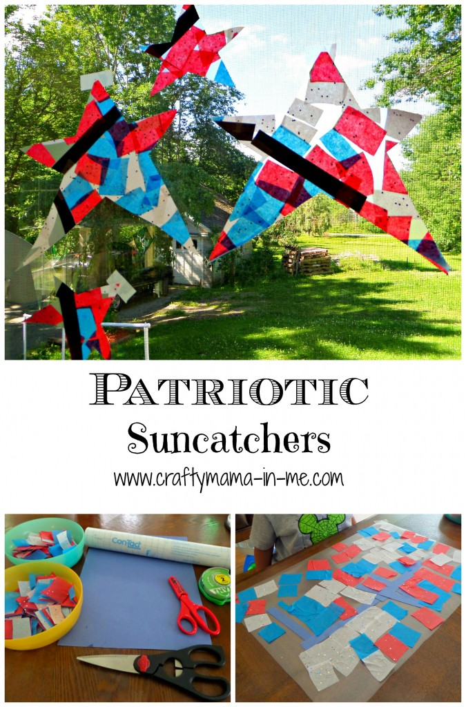 Patriotic Suncatchers