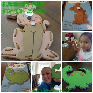 Summer Fun: Stitch-a-Pal Kit