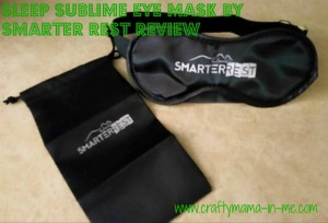 Sleep Sublime Eye Mask by Smarter Rest Review
