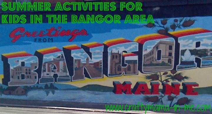 Summer Activities for Kids in the Bangor Area