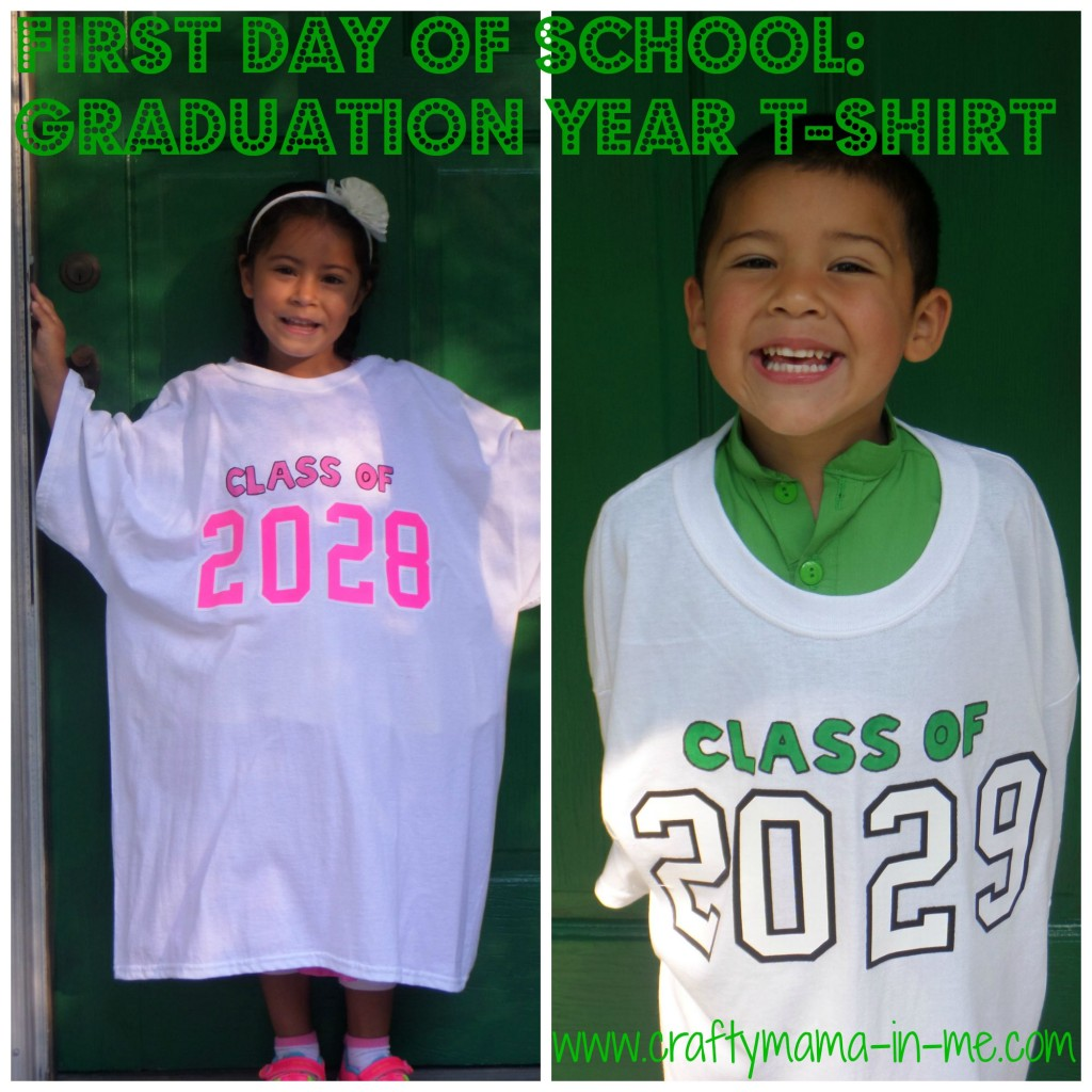 First Day of School: Graduation Year T-Shirt