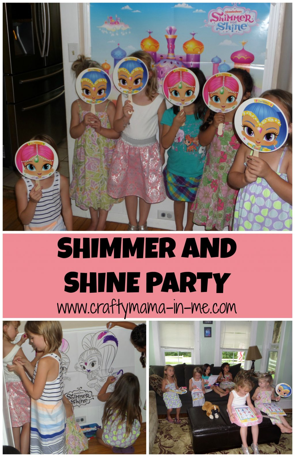 Allestimento Party A Tema Shimmer And Shine Sweet Table Ideas