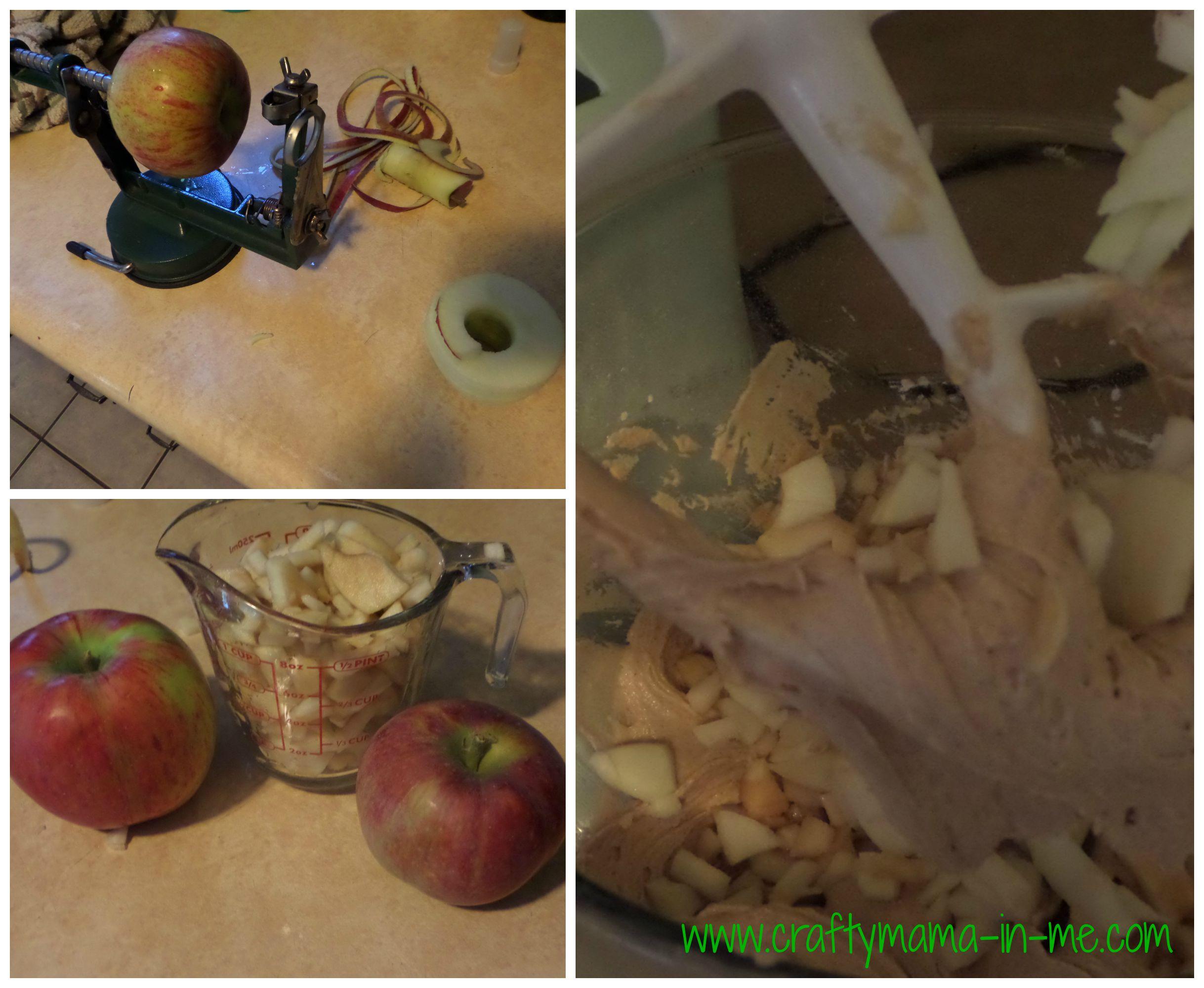 Cream Cheese Apple Coffee Cake