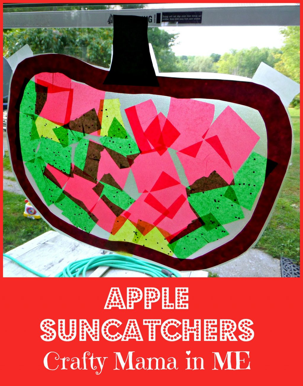Apple Suncatchers