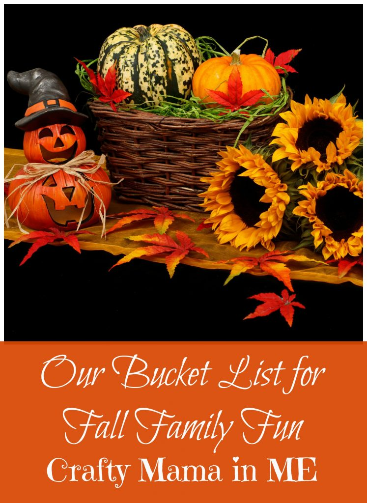 Our Bucket List for Fall Family Fun