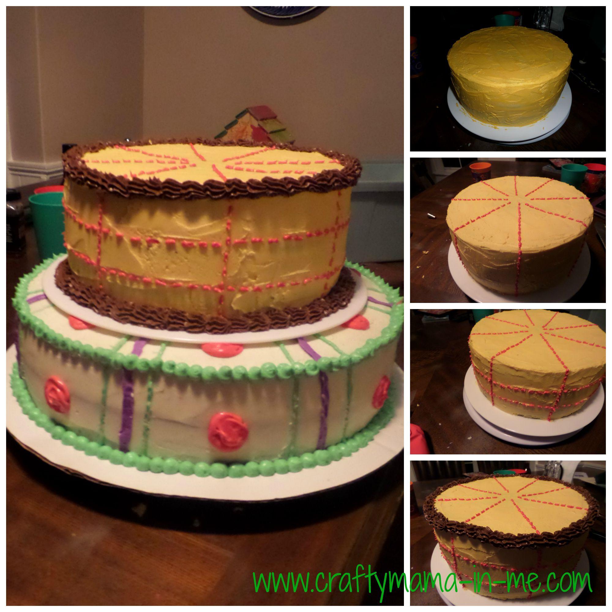 Marvelous Toy Story Birthday Cake Crafty Mama In Me Personalised Birthday Cards Fashionlily Jamesorg