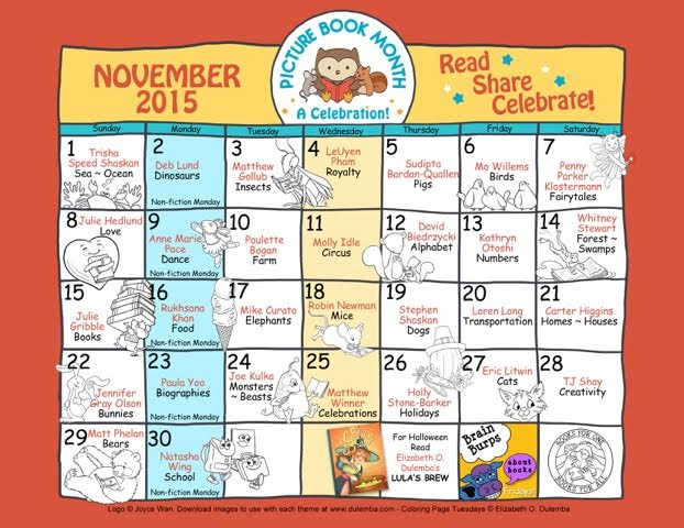 Calendar Ideas Per Month : Picture book month and craft celebration crafty mama in me