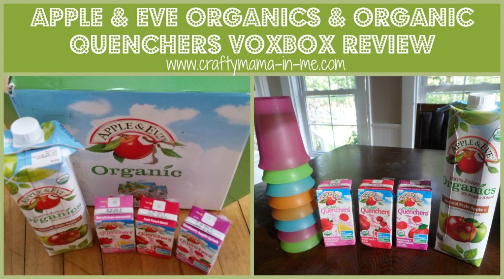 Apple & Eve Organics & Organic Quenchers VoxBox Review