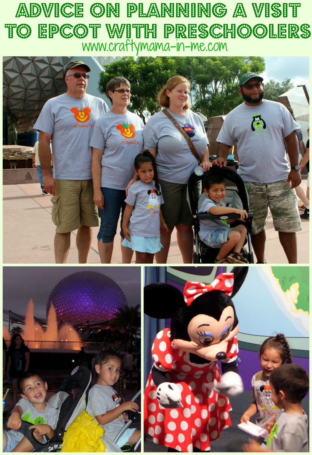 Advice on Planning a Visit to Epcot with Preschoolers