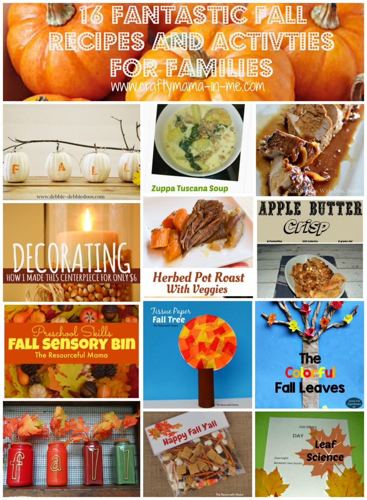 16 Fantastic Fall Recipes and Activities for Families