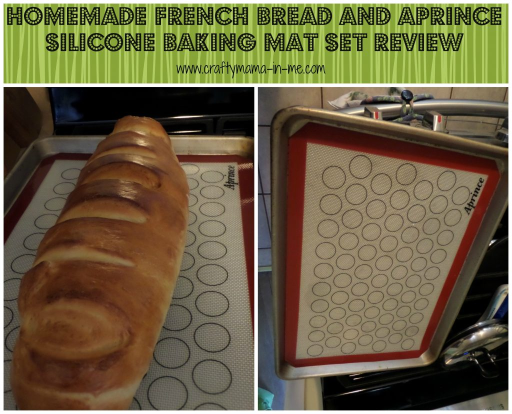 Homemade French Bread and Aprince Silicone Baking Mat Set Review