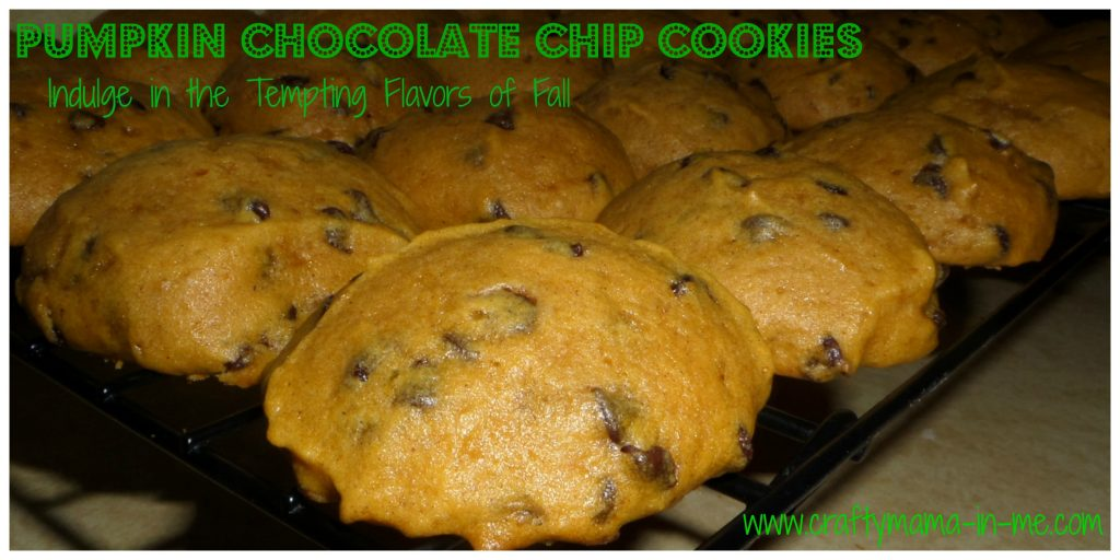 Pumpkin Chocolate Chip Cookies - Indulge in the Tempting Flavors of Fall
