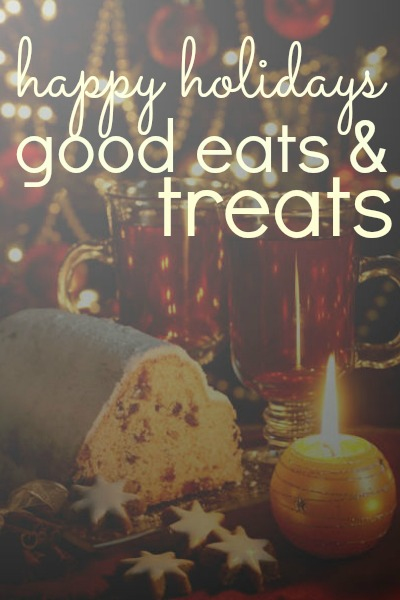 Happy Holiday Good Eats & Treats Blog Hop Logo