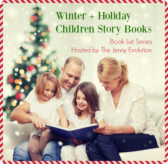 Winter Holiday Child Story Books