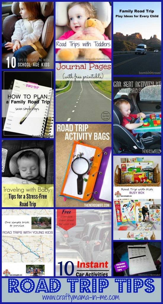 Roundup of Tips for Traveling with Kids