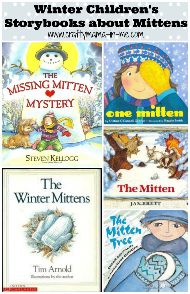 Winter Children's Storybooks about Mittens
