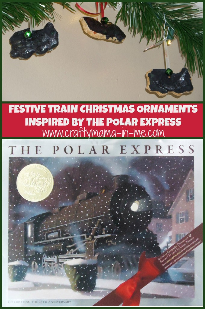 Festive Train Christmas Ornaments Inspired by the Polar Express