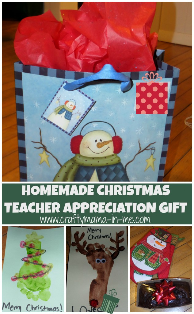 Homemade Christmas Teacher Appreciation Gift