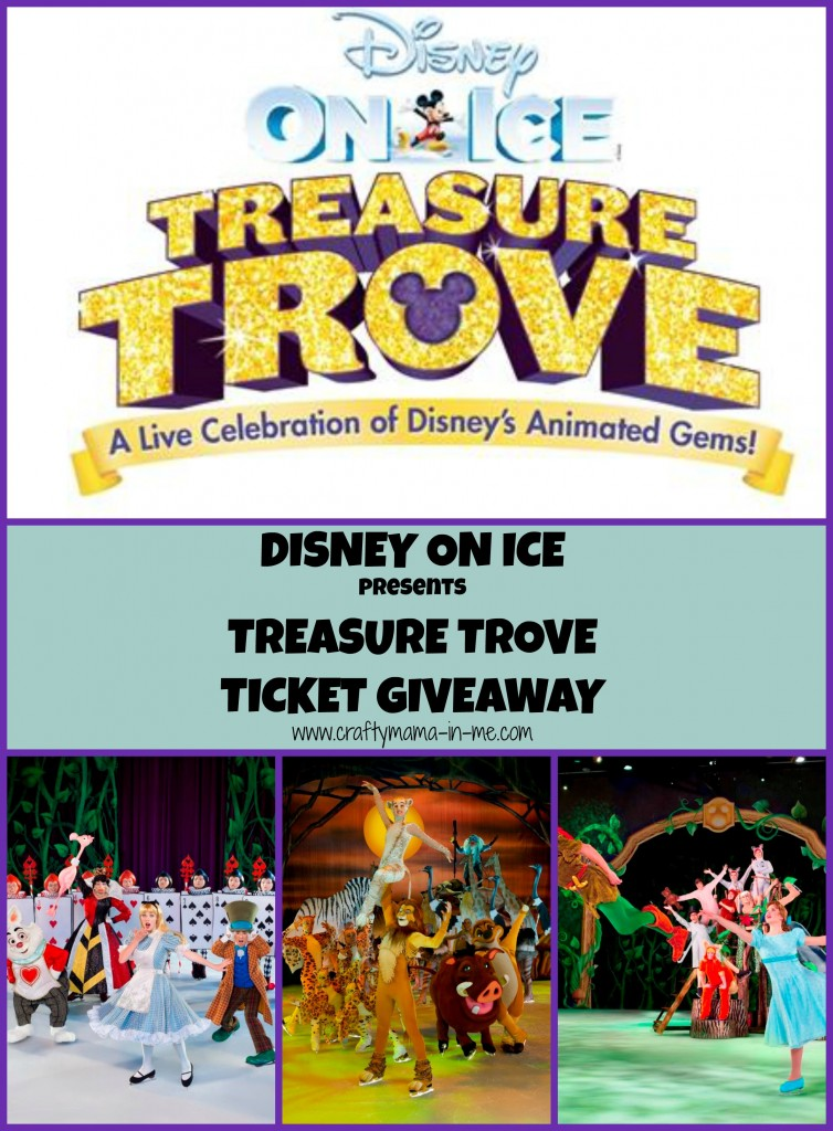 Disney on Ice presents Treasure Trove Ticket Giveaway