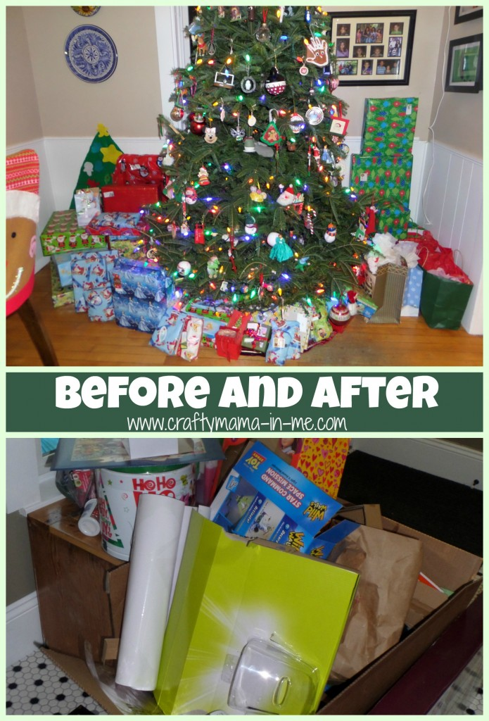 How to Tackle the Christmas Mess