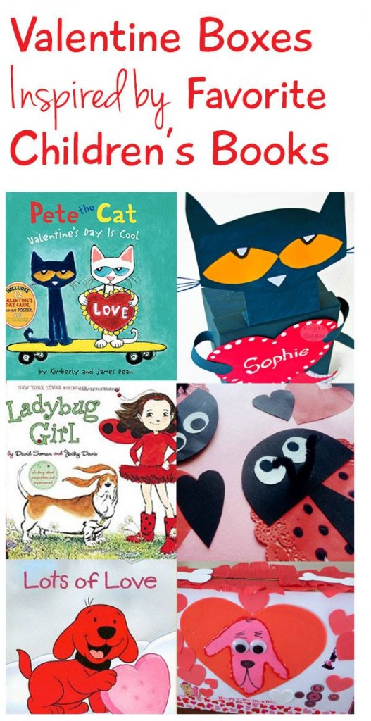 Book Character Valentine's Box Blog Hop & Roundup