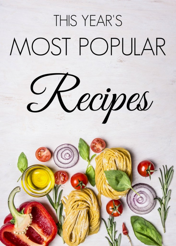 This Years Most Popular Recipes