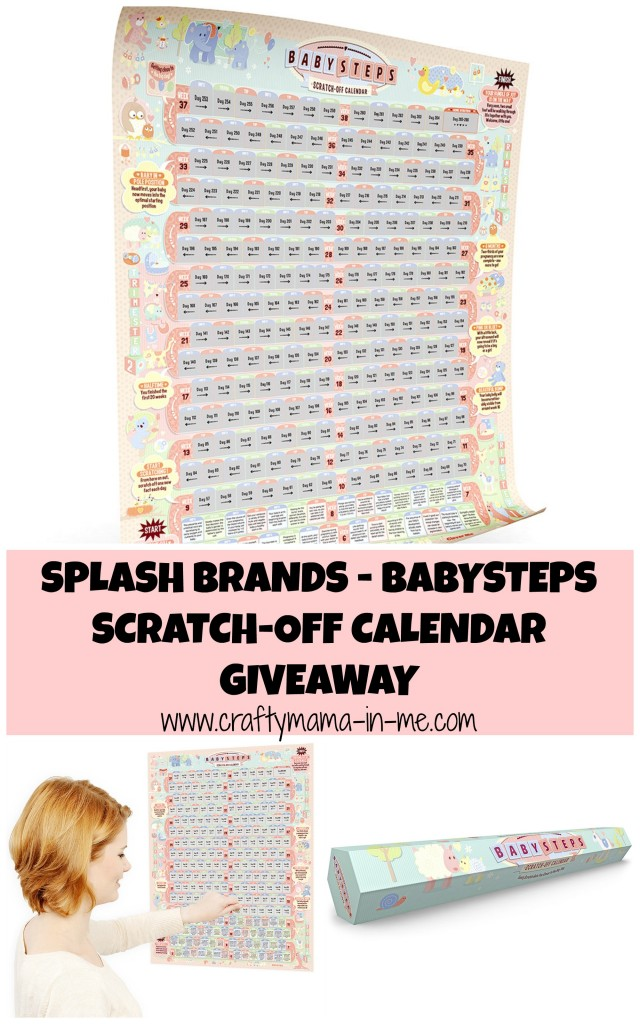 Splash Brands - BabySteps Scratch-Off Calendar Giveaway