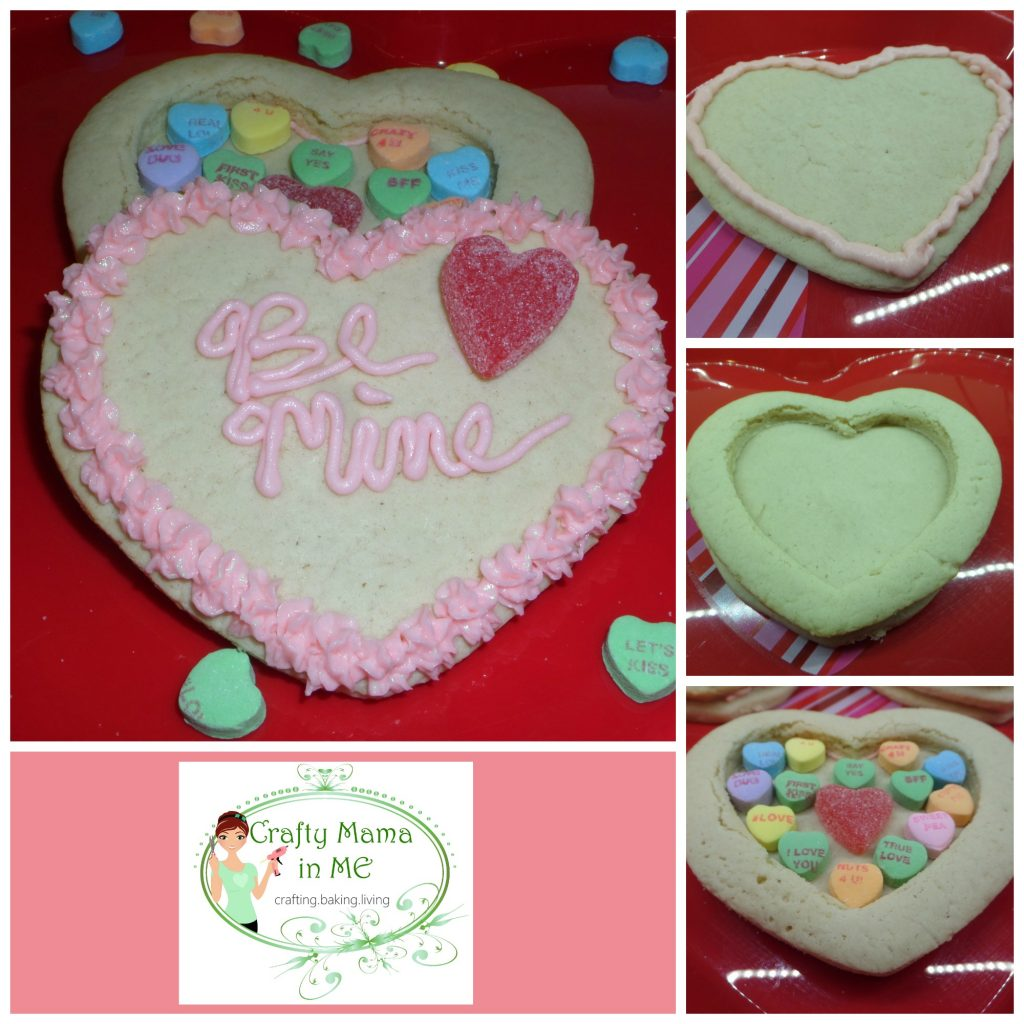 Valentine's Day Heart Hidden Treasure Cookies