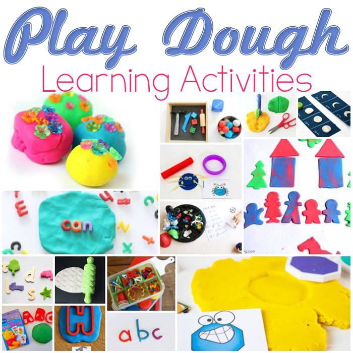 Play Dough Learning Activities Blog Hop