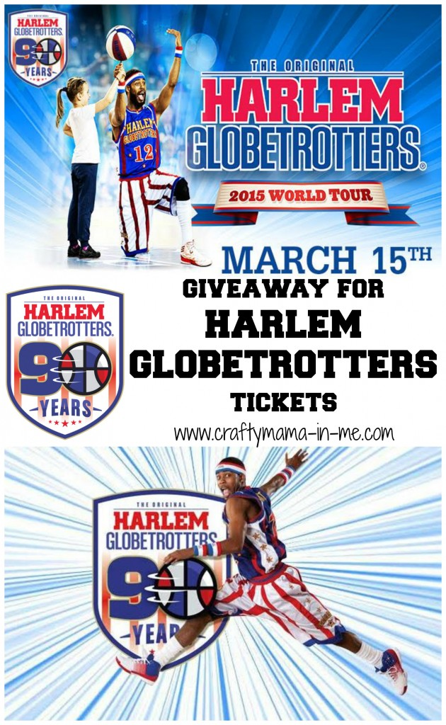 Giveaway for Harlem Globetrotters Tickets