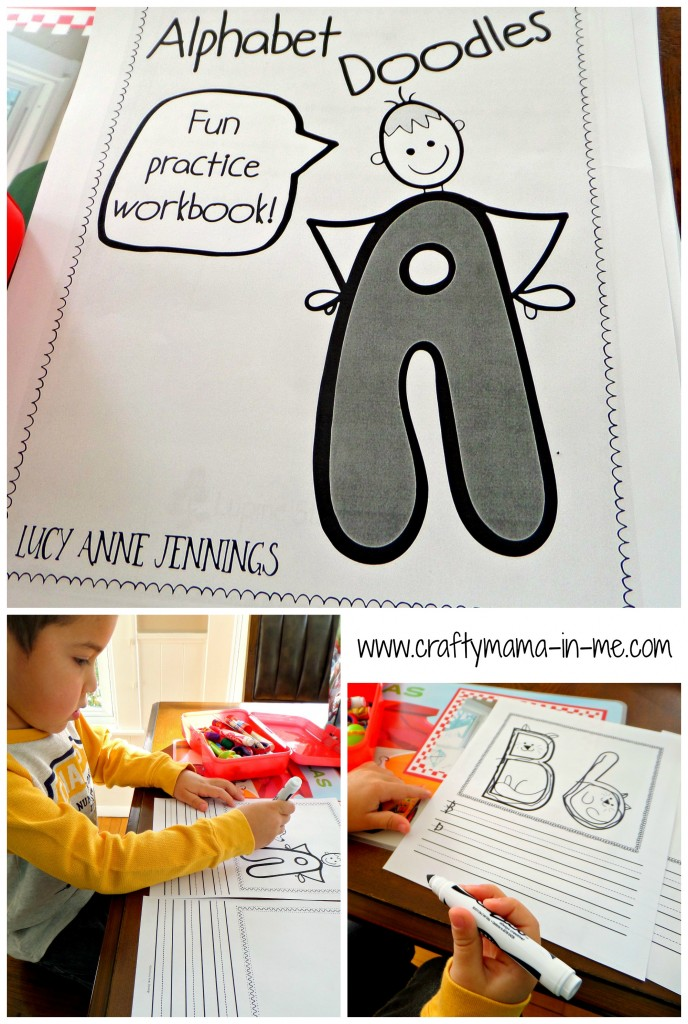 Review of Alphabet Doodles Book