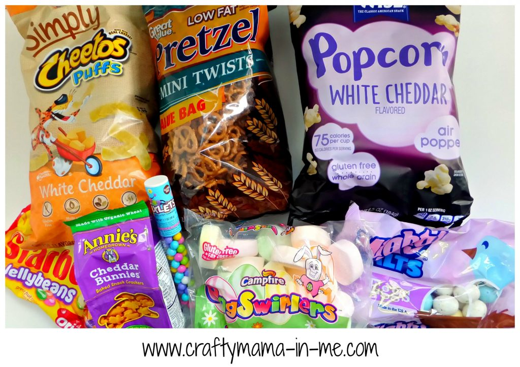 Cheerful and Easy Easter Themed Snack Mix