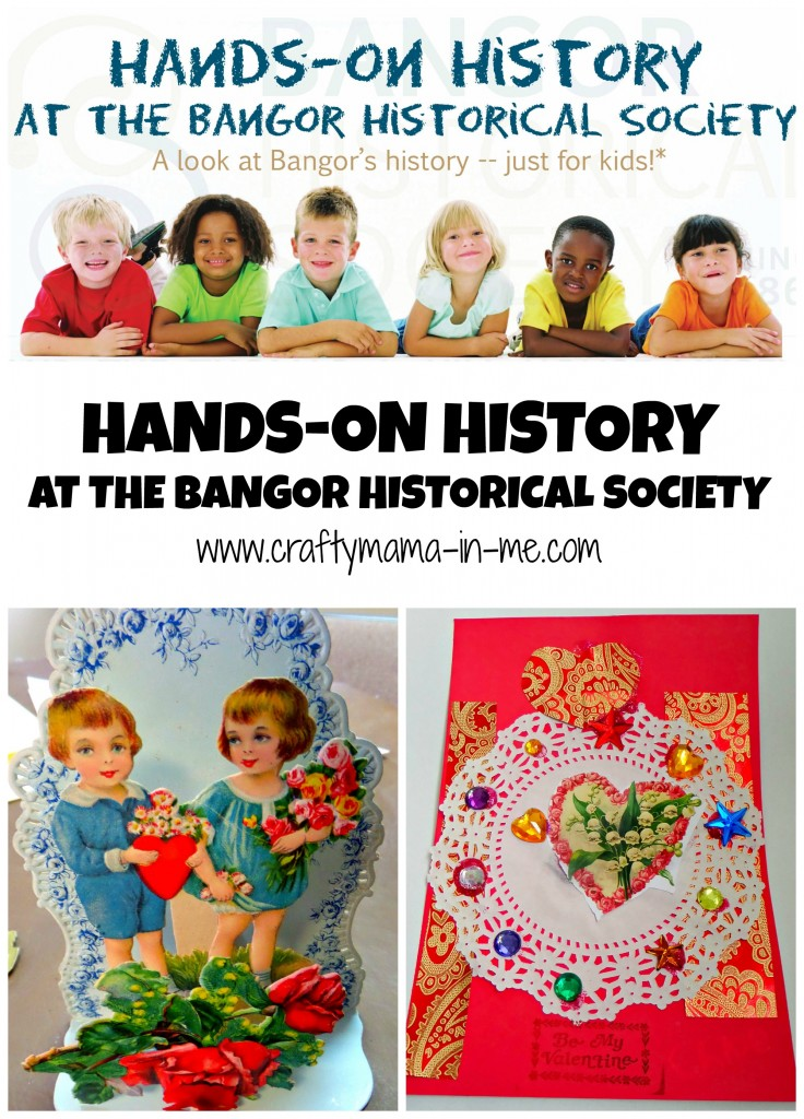 Hands-on History at the Bangor Historical Society