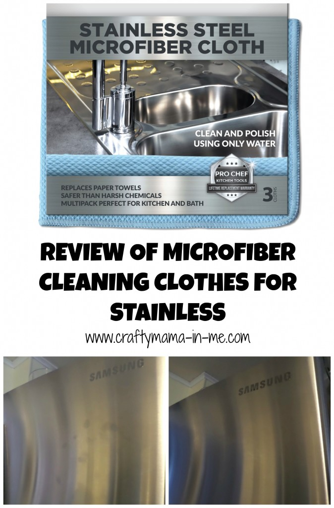 Review Of Microfiber Cleaning Clothes For Polishing Stainless