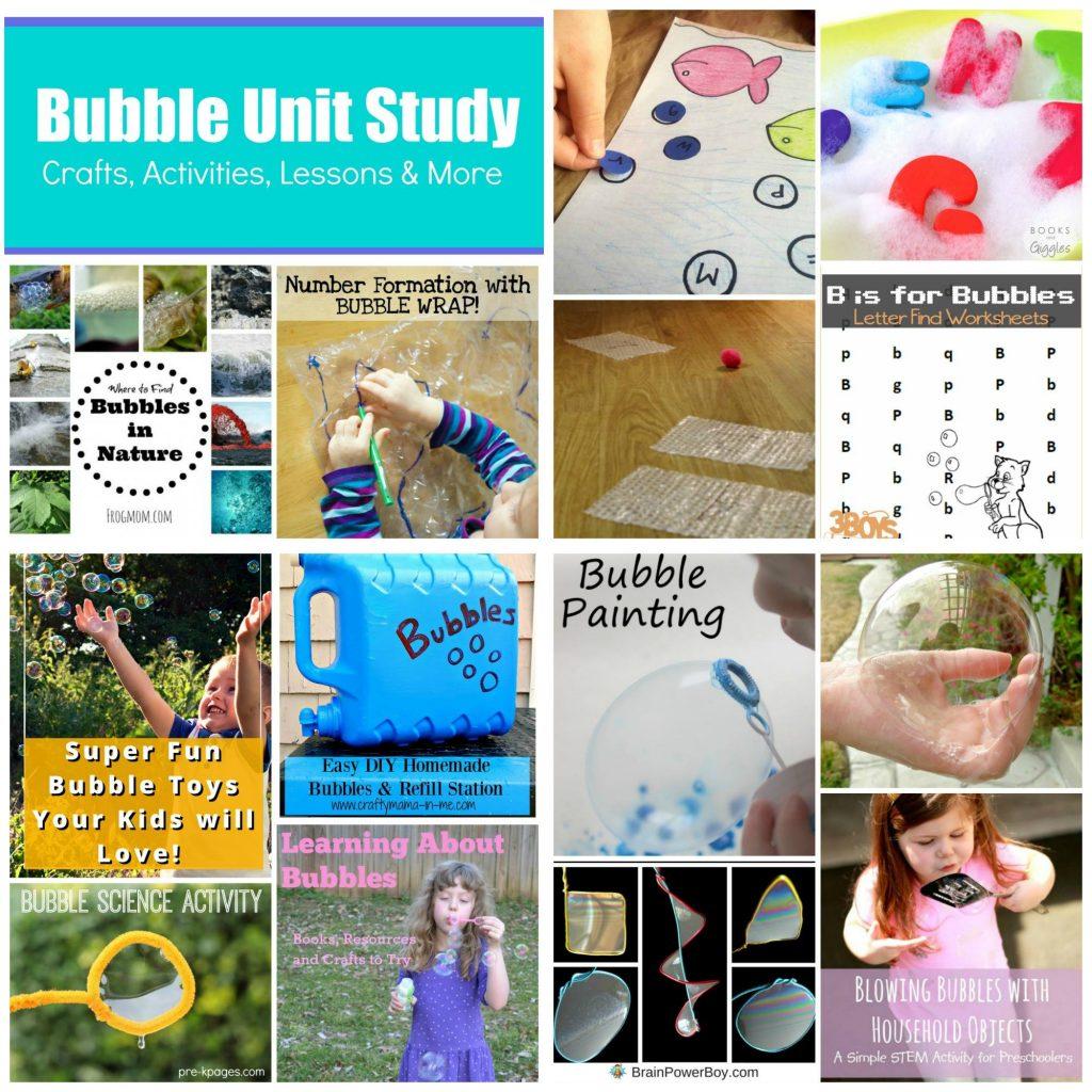 Bubble Unit Study