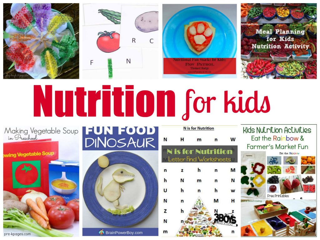 Nutrition for Kids Unit Study