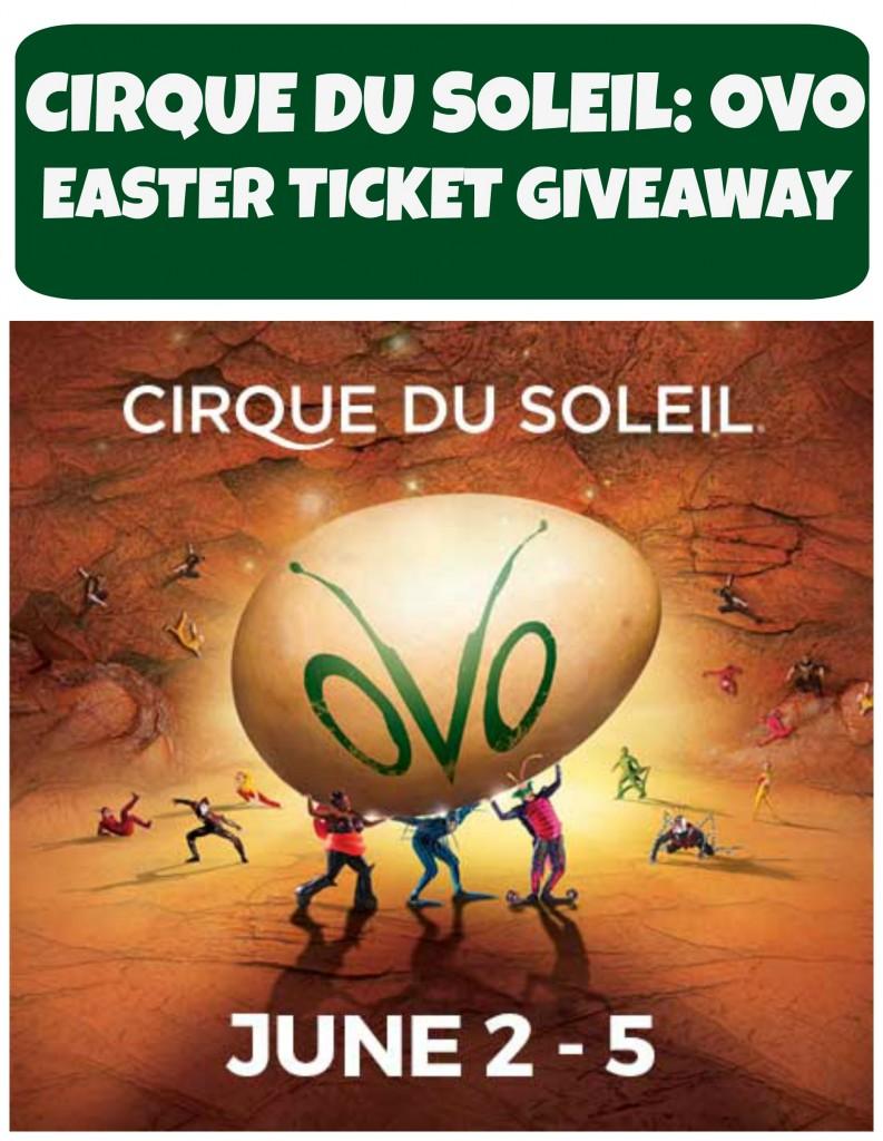 Cirque Du Soleil: OVO - Easter Ticket Giveaway