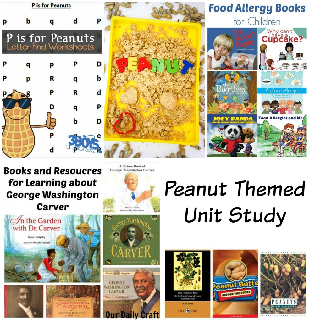 Peanut Themed Unit Study