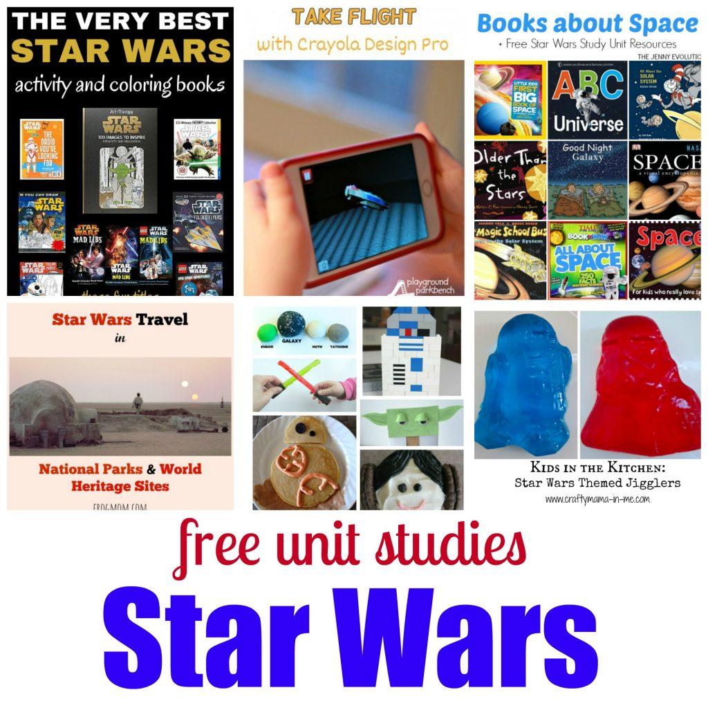 Free Unit Studies Star Wars