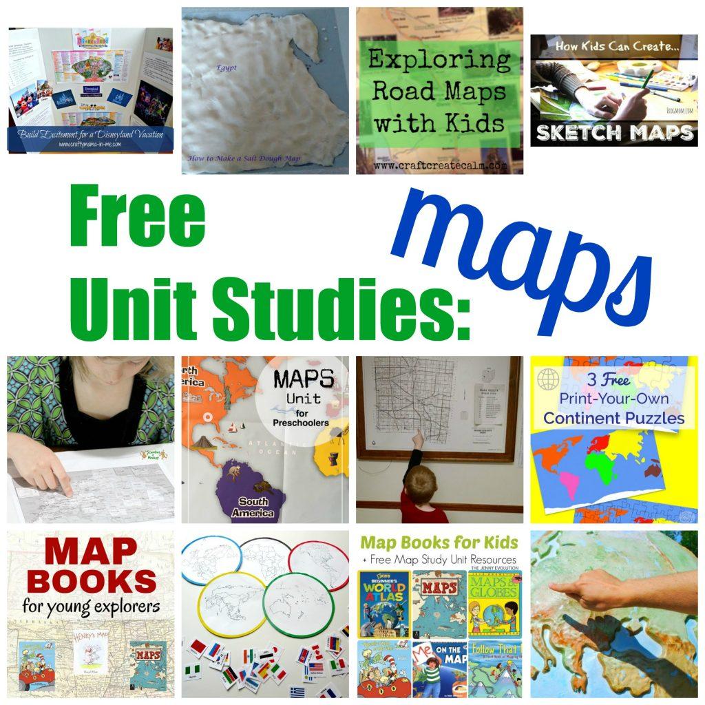 Free Unit Studies: Maps